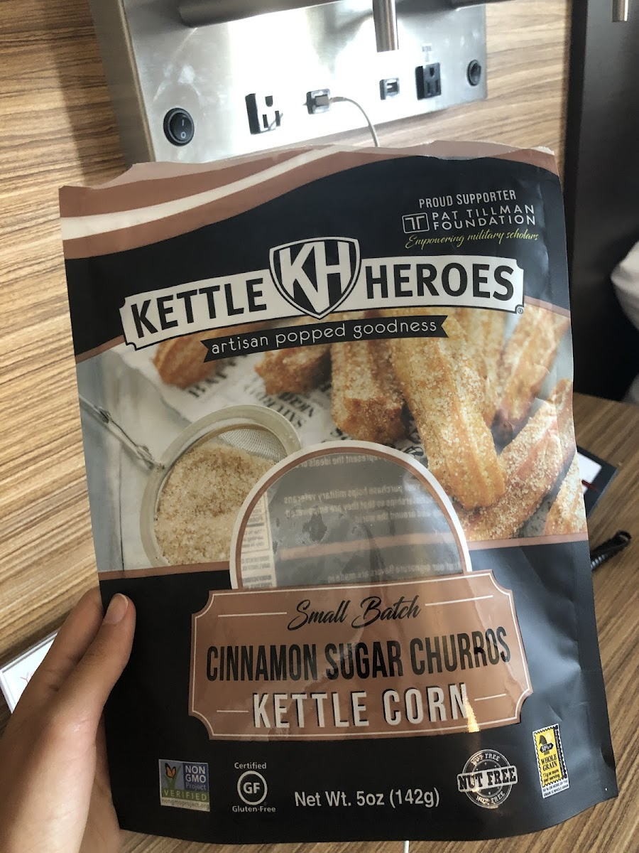 Small Batch Cinnamon Sugar Churros Kettle Corn