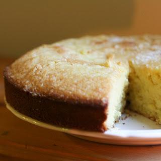 Tangerine Cornmeal Cake