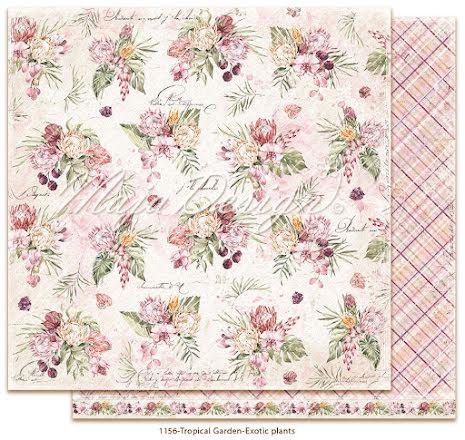 Maja Design Tropical Garden 12X12 - Exotic plants