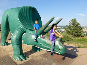Photo: Triceratops, the three-horned nemesis of the T-Rex