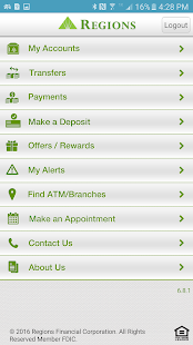 Regions bank apps on google play screenshot image reheart Choice Image
