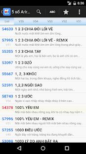 Mã số Karaoke Vietnam - screenshot thumbnail