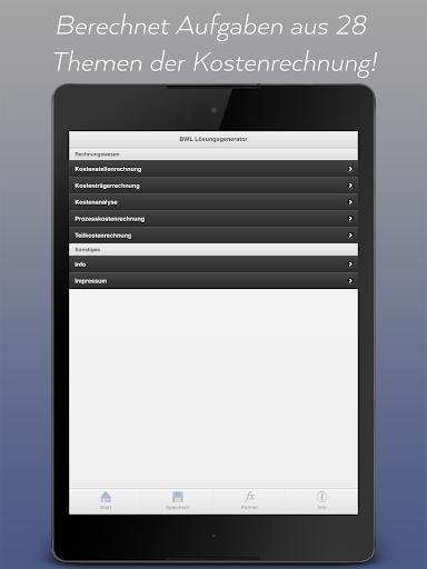 玩教育App|BWL Lösungsgenerator PRO免費|APP試玩