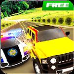 Police Cars: Robber Chase Prado Drive 4x4 Game 3D Icon