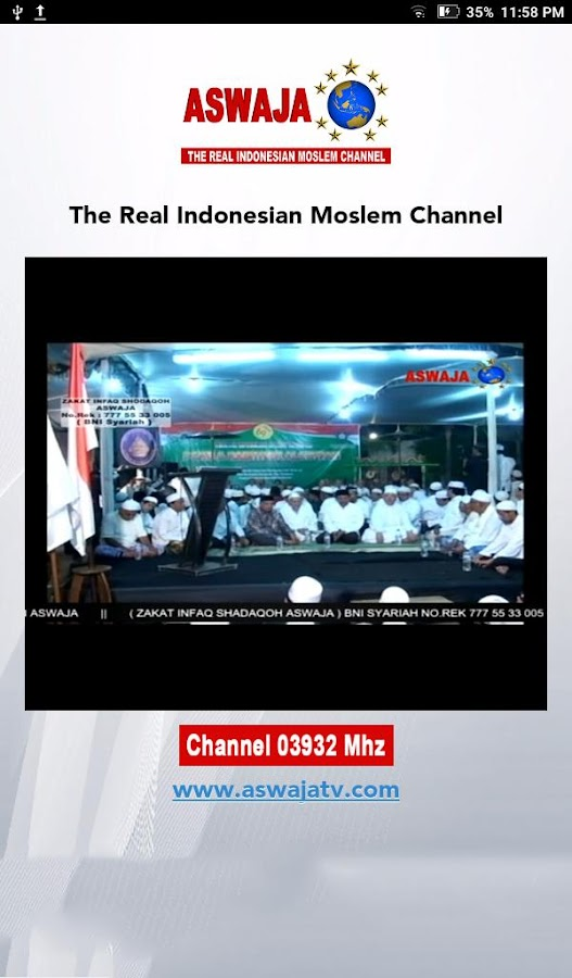 Aswaja TV- screenshot