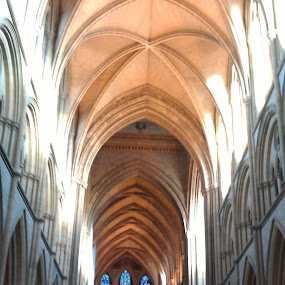 Truro cathedral. by Sal Hosking - Buildings & Architecture Places of Worship