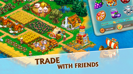 Harvest Land: Farm & City Building apkdebit screenshots 17
