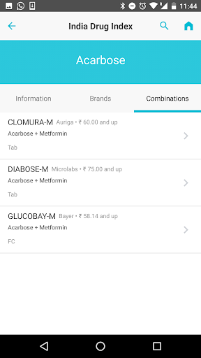 India Drug Index (Offline Dictionary) screenshot for Android