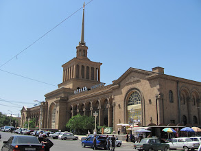 Photo: Armenien: Jerewan, Bahnhof