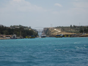 Photo: Corinth Canal Exit