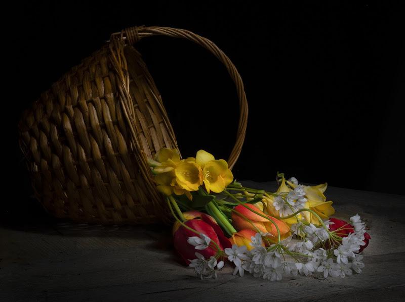 cestino di fiori di francesca_ciarlantini