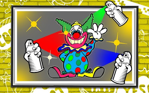 Coloring Killer Clown Craze screenshot 3