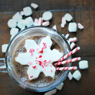 Boozy Hot Chocolate for One.
