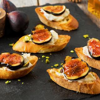 Grilled Balsamic-Fig Crostini