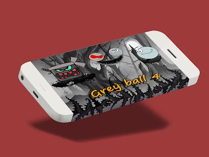 Gray ball GO - náhled