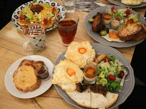 台北早午餐-URBAN SELECT 城嚴選,皇后的早餐視覺效果佳,軟乎乎的雲朵蛋,生活雜貨咖啡輕食