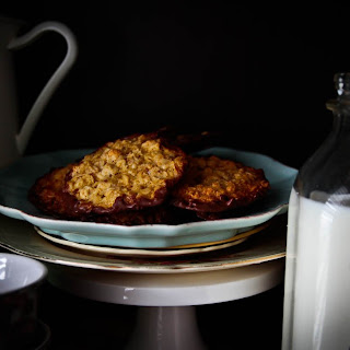Swedish Oatmeal Crisp Cookies