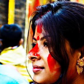 Bengali Beauty by Saikat Dhar - People Portraits of Women