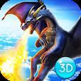 Legendary Royal Dragon Fantasy Battle World