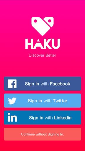 Haku: Discover Better