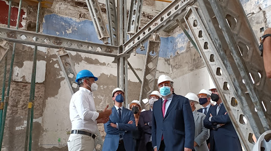 Mejoras para los cimientos de la sala de San Rafael en el Hospital Provincial