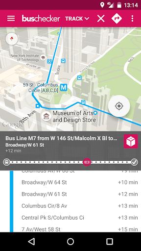 玩免費遊戲APP|下載NYC Bus Checker - Live Times app不用錢|硬是要APP
