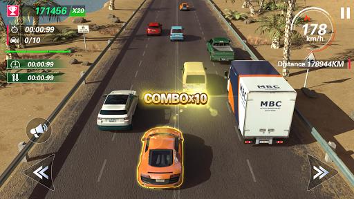 Code Triche Traffic Fever APK MOD (Astuce) screenshots 1