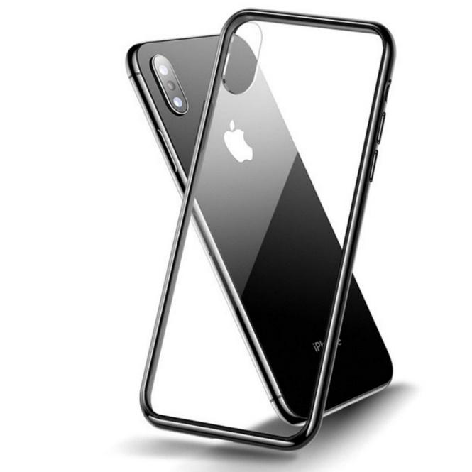 Картинки по запросу TPU+Glass чехол Clear для Apple iPhone XS Max (6.5