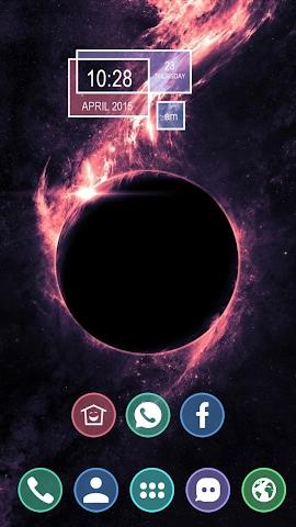 android Burning Moon Screenshot 0