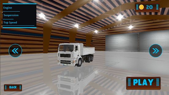 Euro Náklad dodávka Truck Sim - náhled