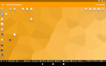 My Remote Desktop screenshot thumbnail