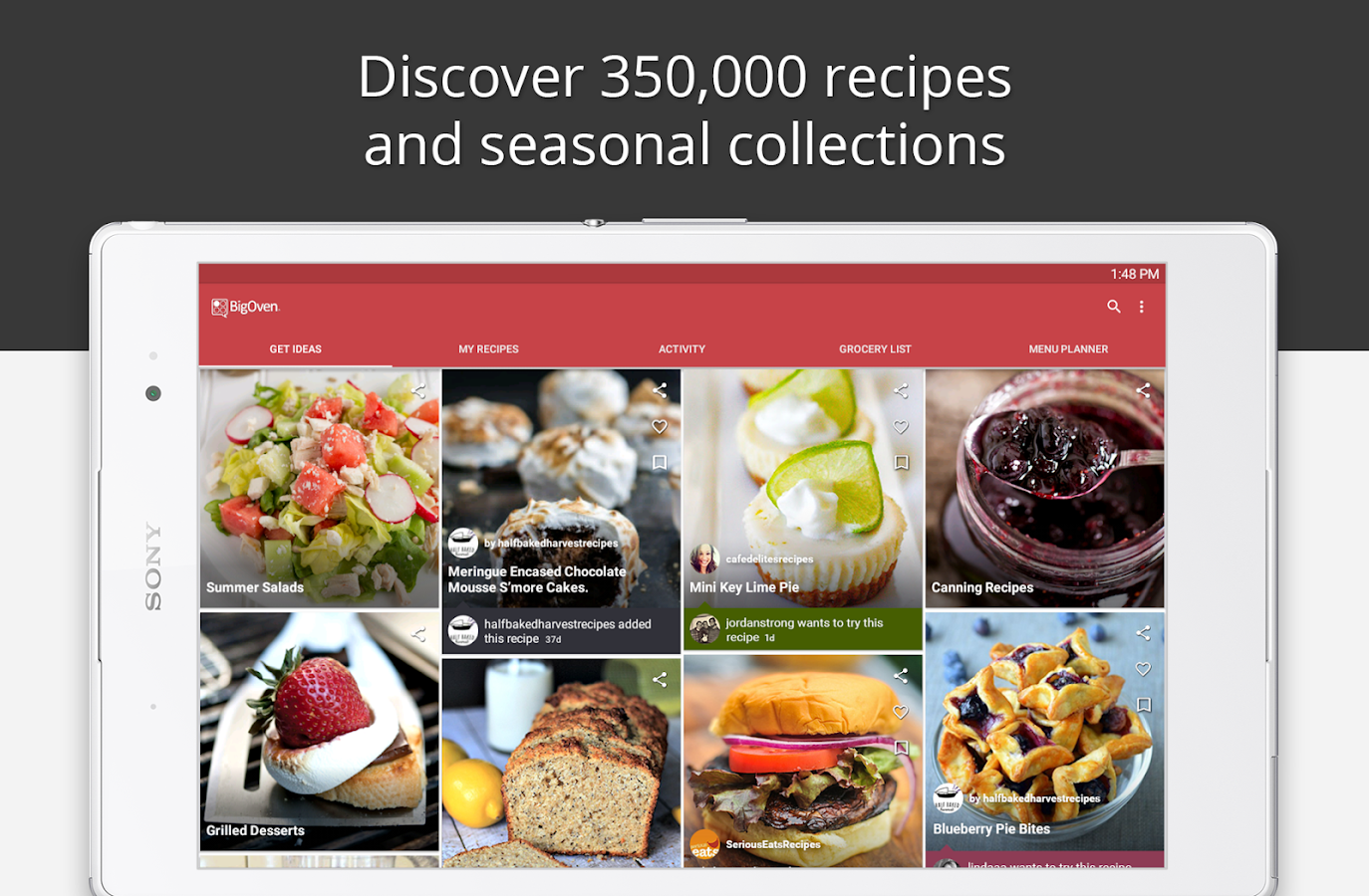BigOven: 350,000+ Recipes: captura de pantalla