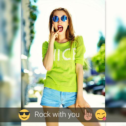 Insta Square Blur Snap Pic 攝影 App LOGO-硬是要APP