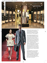 Photo: Nov 09 - En Vogue magazine, article on buffi jashanmal as designer and stylist at Salam