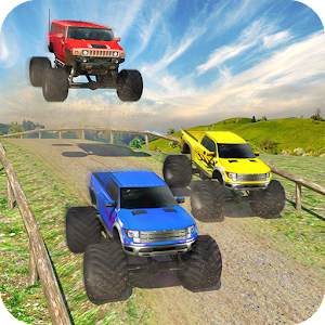 Monster Truck Racing - 4x4 Offroad Rally Racer 3D