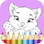 Cat Coloring Pages Game Android APK Download Free By Infokombinat