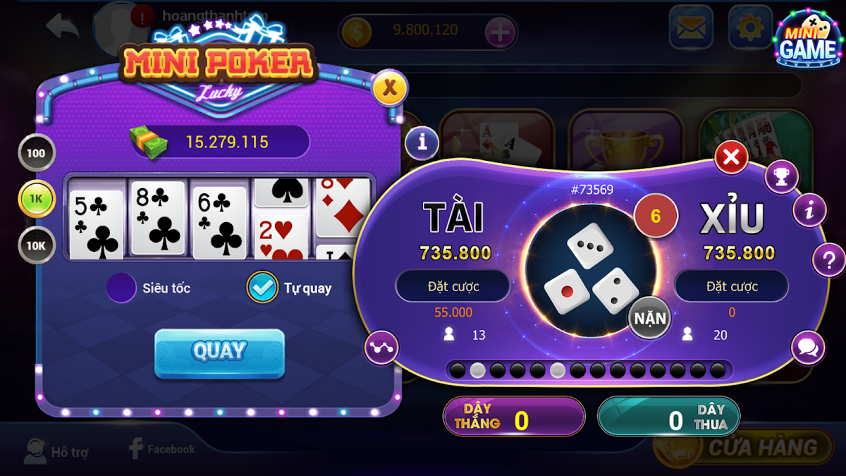 Game bai - danh bai doi thuong VIP69 Slot 2019