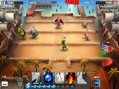 Castle Crush: Free Strategy Card Games Screenshot