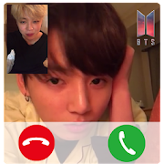 Call with BTS - Fake Video BTS Idol