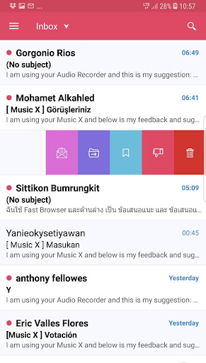 Email: Mail for Gmail - screenshot
