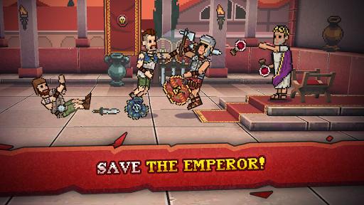 Gladihoppers - Gladiator Battle Simulator! 2.1.0 screenshots 9