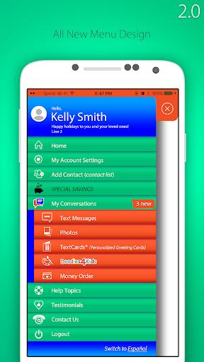 TextBehind - Inmate Text Messaging screenshots 1