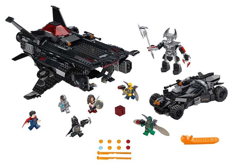 Contenido de Lego® 76087 Flying Fox: Ataque Aéreo del Batmobile