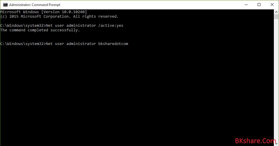 Kích hoạt tài khoản Super Administrator trong Windows