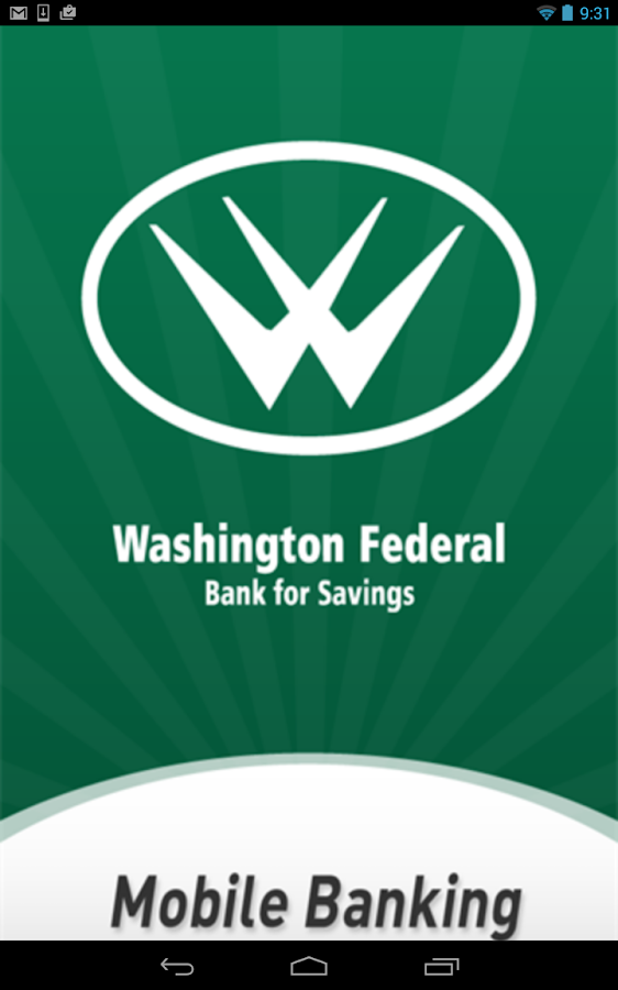 Washington Federal Bank- screenshot