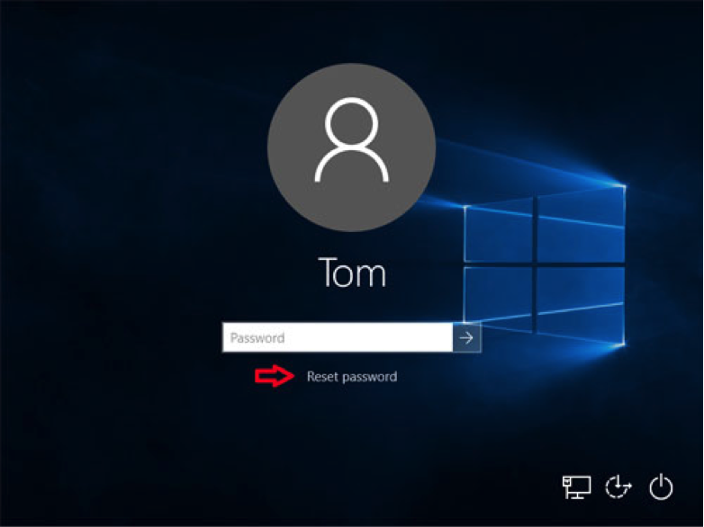 Windows reset password