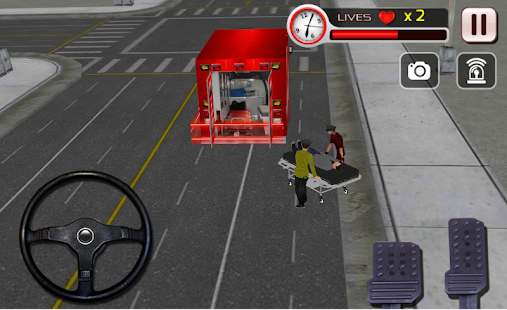 911 Ambulance Rescue Driver- screenshot thumbnail