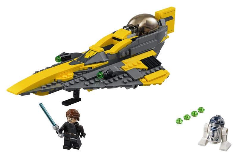 Contenido de Lego® 75214 Caza Estelar Jedi de Anakin