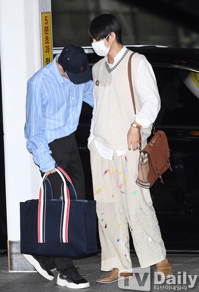 bts v colorful pants 3