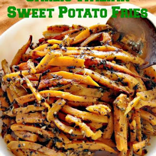 Garlic-Italian Sweet Potato Fries